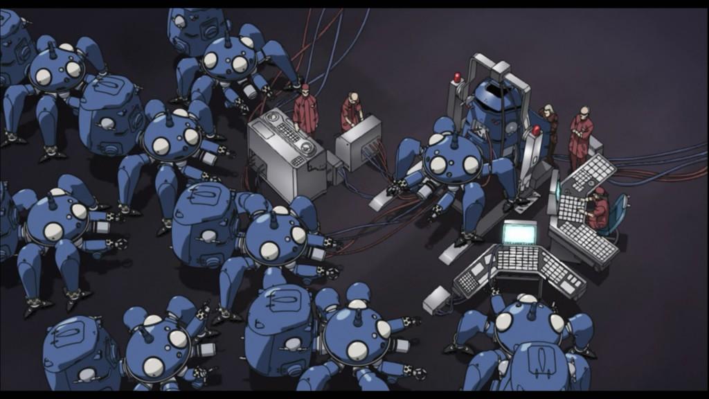 08 - ai robots tachikoma